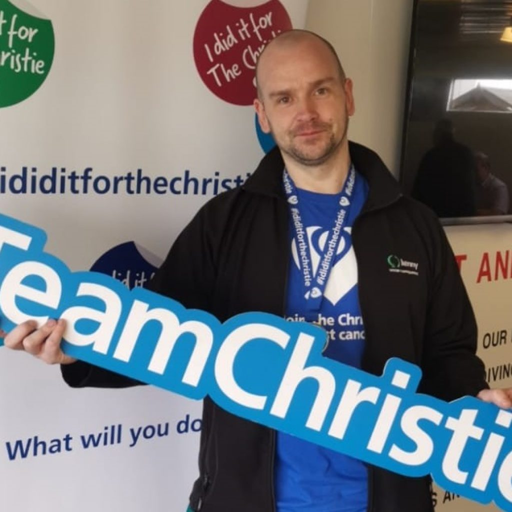 Kenny Colleague's Fundraising Sky Dive
