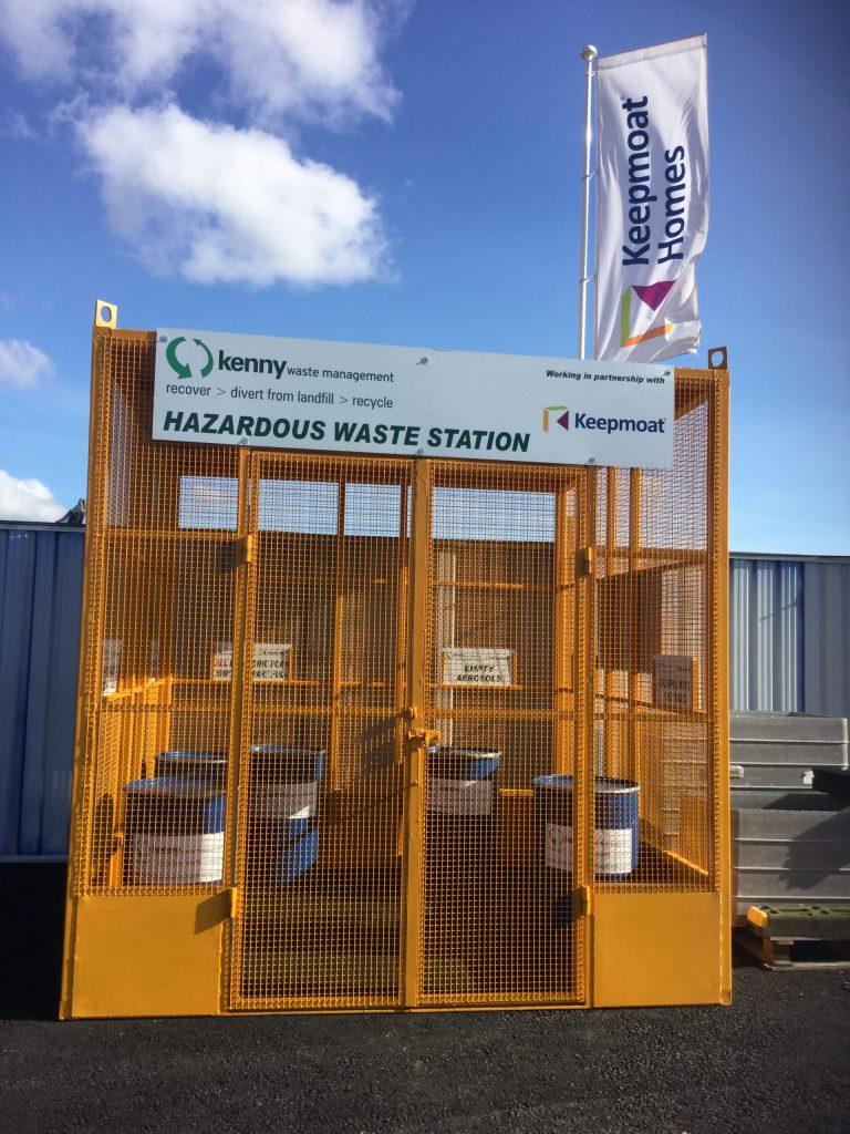 Dedicated Hazardous Waste Station On Site At Leicester Housing Development