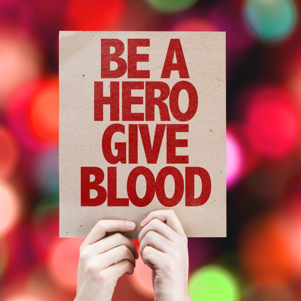 Giving blood and climbing hills: Driving Change in action