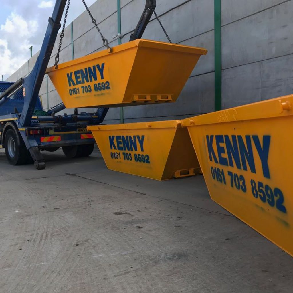 We're manufacturing our own skips in Manchester