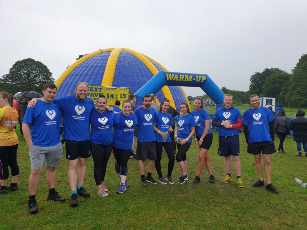 Team Kenny Smashes Our Fundraising Target At Rough Runners!