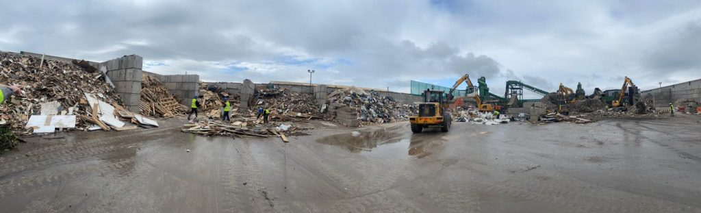 Kenny Waste Management Behind the Scenes #3. Initial Material Separation